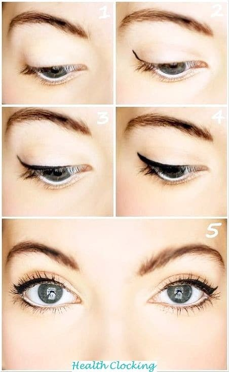 15 Natural Eye Make-up for Office Looks Make up for beginners Women  office natural make up natural eye make up natural looks 15 Natural Eye Make-up for Office Looks