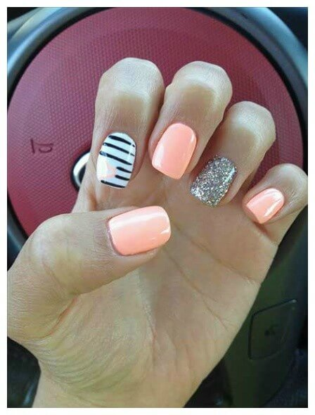 40 Amazing Summer Nail Designs Nail Care Tips Nail Desings  summer nail summer nail trend nail design designs amazing 20 Amazing Summer Nail Designs for 2019