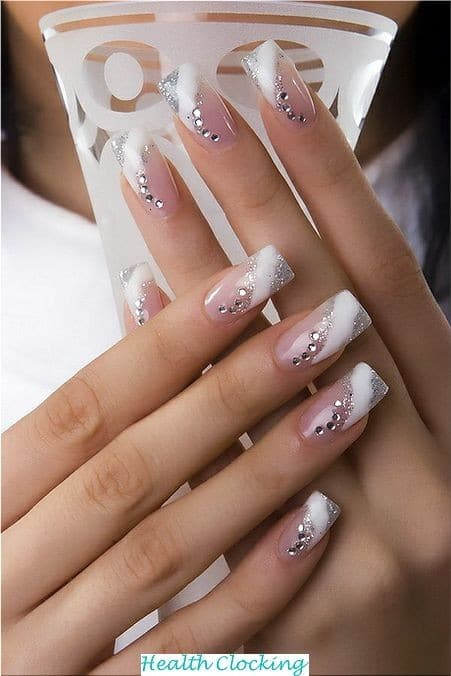 55 Elegant Ideas of Bride Nail For Bride Ideas Bride Nail  ideas bride nail wedding bride nail 55 Elegant Ideas of Bride Nail